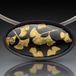 Ginkgo leaves series brooch-pendant Original-Zapp-72DPI